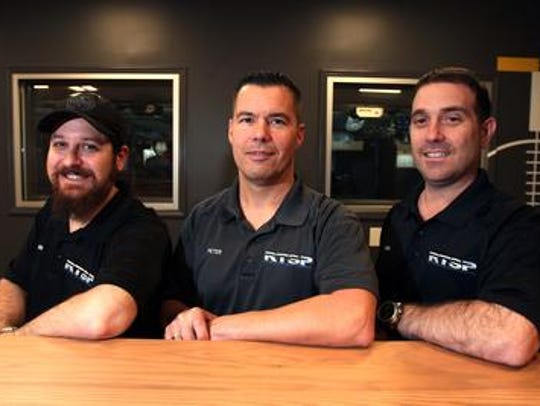 From left, RTSP owners Brad Tremaroli, Peter Miscia