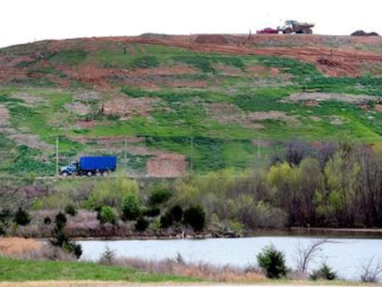 The private Middle Point Landfill is off East Jefferson