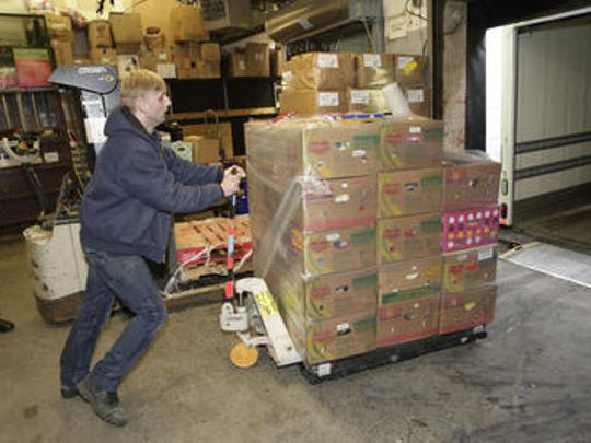 Greg Oleksy, a driver for Food Bank for Westchester,