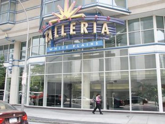 The Galleria mall in White Plains.