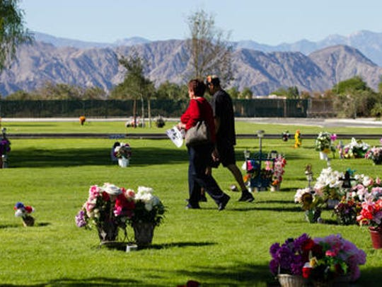 This Desert Sun file photo shows people at the Coachella