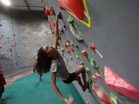 Desert Rocks in north Palm Springs offers some challenging wall climbs that can be done by all ages.