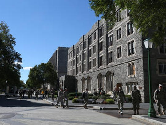 The United States Military Academy at West Point on