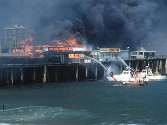Long Branch Pier Fire Home to a popular amusement park