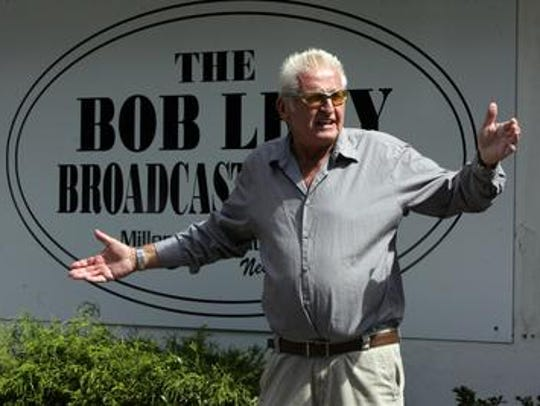 WOBM radio host Bob Levy, who died in March.
