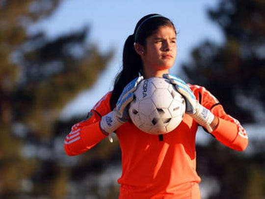 El Paso's Emily Alvarado will represent Mexico in the U20 Women's World Cup.