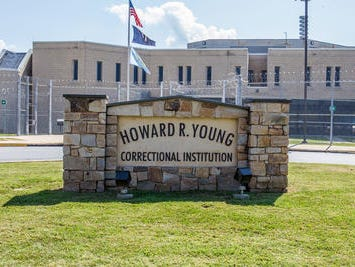 Howard R. Young Correctional Institution in Wilmington.