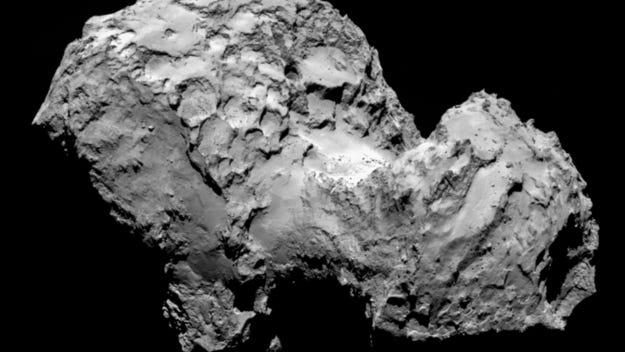 The comet known as 67P/Churyumov-Gerasimenko.