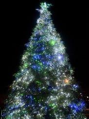 Salem Convention Center's annual Community Tree lighting