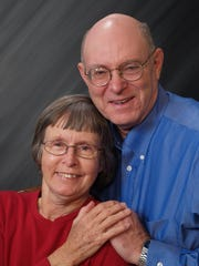 Wyveta and Gordon Percell, married 50 years.