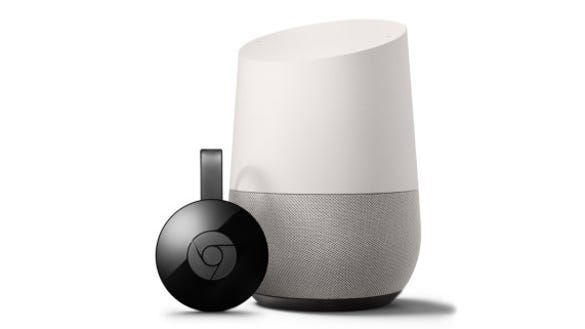 Google's Chromecast and Home. A security researcher found a potential privacy leak in the two devices.