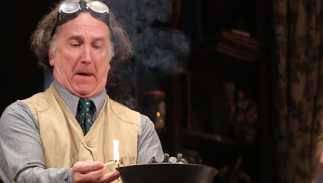 """Mark-Linn Baker plays Paul Sycamore in """"You Can't Take It with You"""" on Broadway. Baker plays Scrooge in the New York Public Radio production of """"A Christmas Carol"""" on Dec. 8, 2014."""