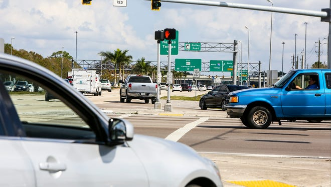 Traffic hot spots like Colonial Blvd just before 75 was talked about as experts discussed future transportation issues at a Chamber of Southwest Florida luncheon meeting.