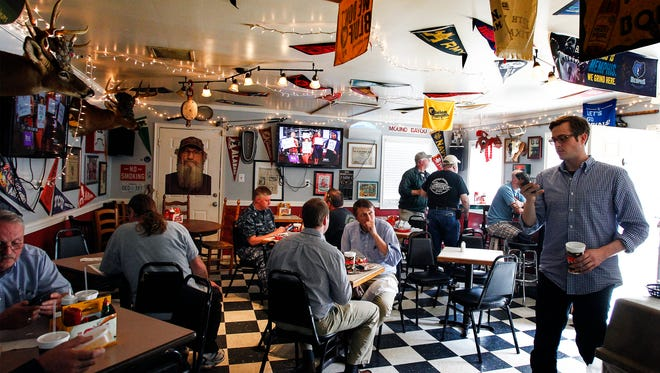 After being closed three months, Elwood's Shack reopens at 7 a.m. Friday.