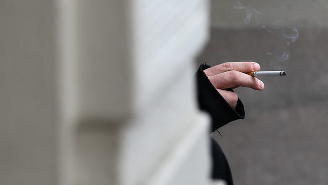 The analysis of recent CDC data reveals an increase of tobacco usage in films that could contribute to lung cancer's impact on a younger generation.