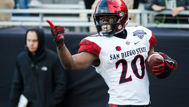 The Seahawks drafted San Diego State running back Rashaad Penny on Thursday.