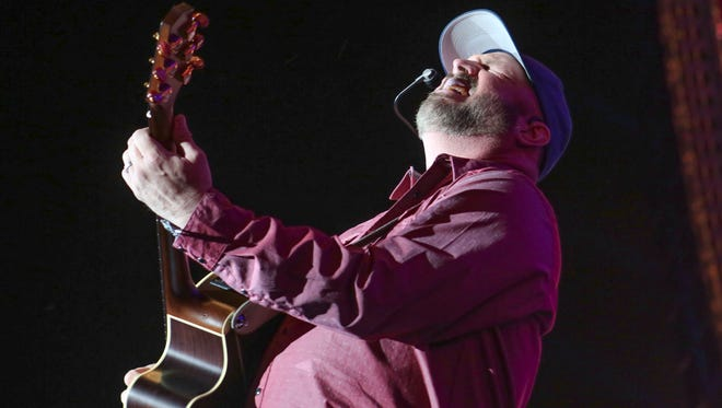 Garth Brooks performs at the Stagecoach Country Music Festival at Empire Polo Club.