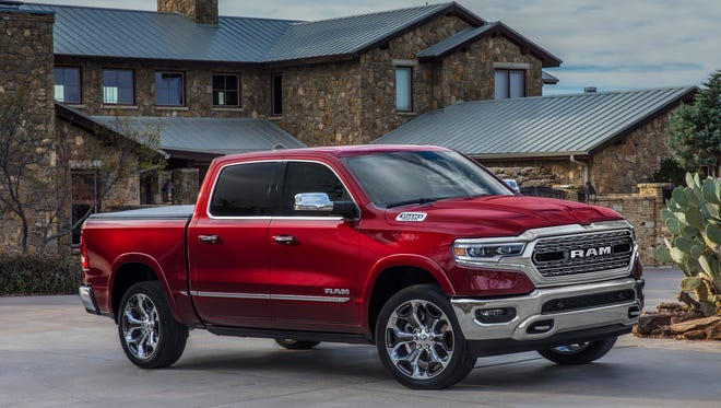 The 2019 Ram 1500 Crew Cab is lighter, longer and wider. The big pickup includes an overall cab length increase of four inches, creating the 1500's most spacious interior for additional features and passenger comfort.