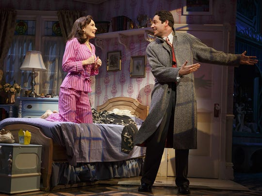 Laura Benanti and Zachary Levi star in the show.