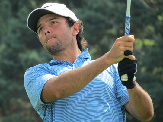 Thomas La Morte of Bergen County shared low amateur honors at the 98th New Jersey Open golf championship at Montclair Golf Club in West Orange on Friday, July 27.