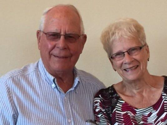 Anniversaries: Roger Lunstra & Joyce Lunstra