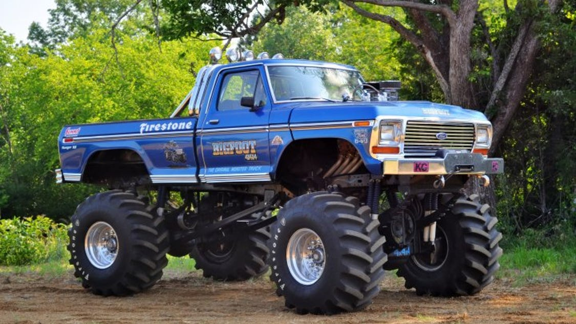 Classic Monster truck 'Bigfoot' coming to Horseheads