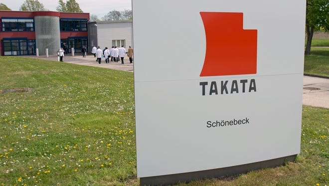 Takata Ignition Systems in Schoenebeck, Germany.