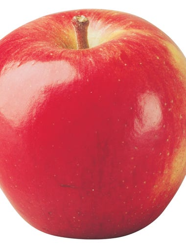 Braeburn: Sweet, tart and spicy, color varies from orange to red over yellow, firm and great for snacking and baking.
