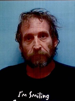 Dennis Kirby, of Hyampom, was arrested by the Trinity County Sheriff's Office.