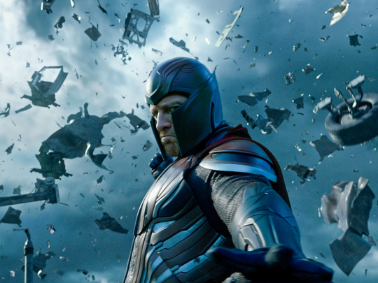 "Michael Fassbender returns as Magneto in ""X-Men: Apocalypse."""