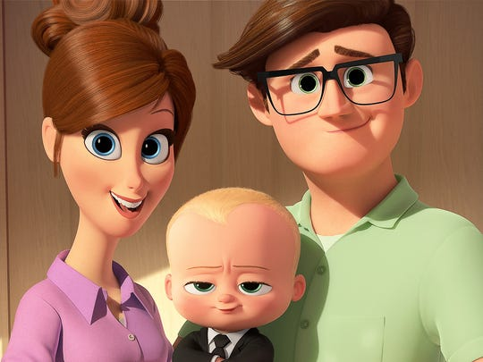 "A suit-wearing baby (voiced by Alec Baldwin) aims to foil the plot of the head of Puppy Co., with the help of his 7-year-old brother, in ""The Boss Baby,"" which will be screened 2 p.m. July 26 at the Tom Burnett Memorial Library in Iowa Park."