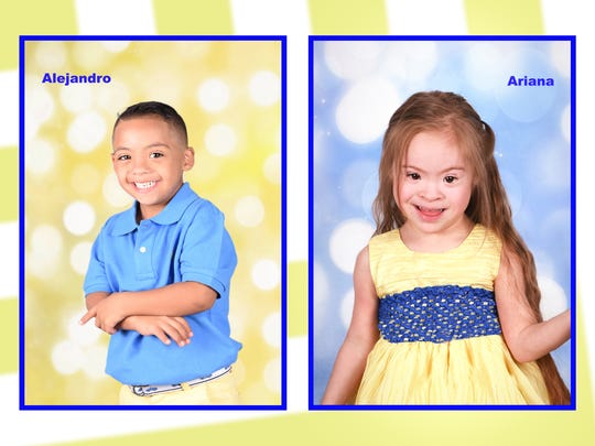One of the pages in the 2018 Down Syndrome Awareness