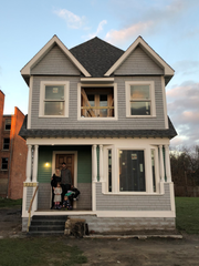 The renovated McGee-Coffey house.