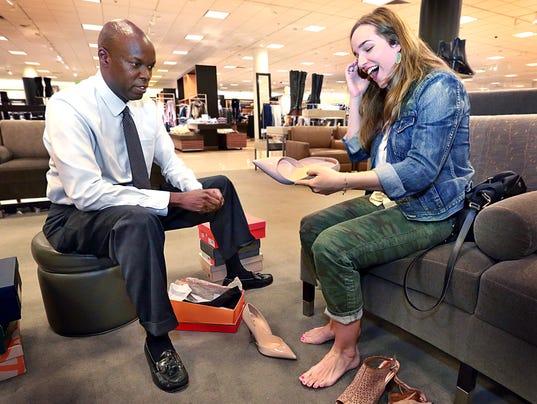 Al Lenoir is Nordstrom's 'Shoe Whisperer'