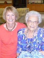 Liz McCormick Wenger and Dorothy McCormick