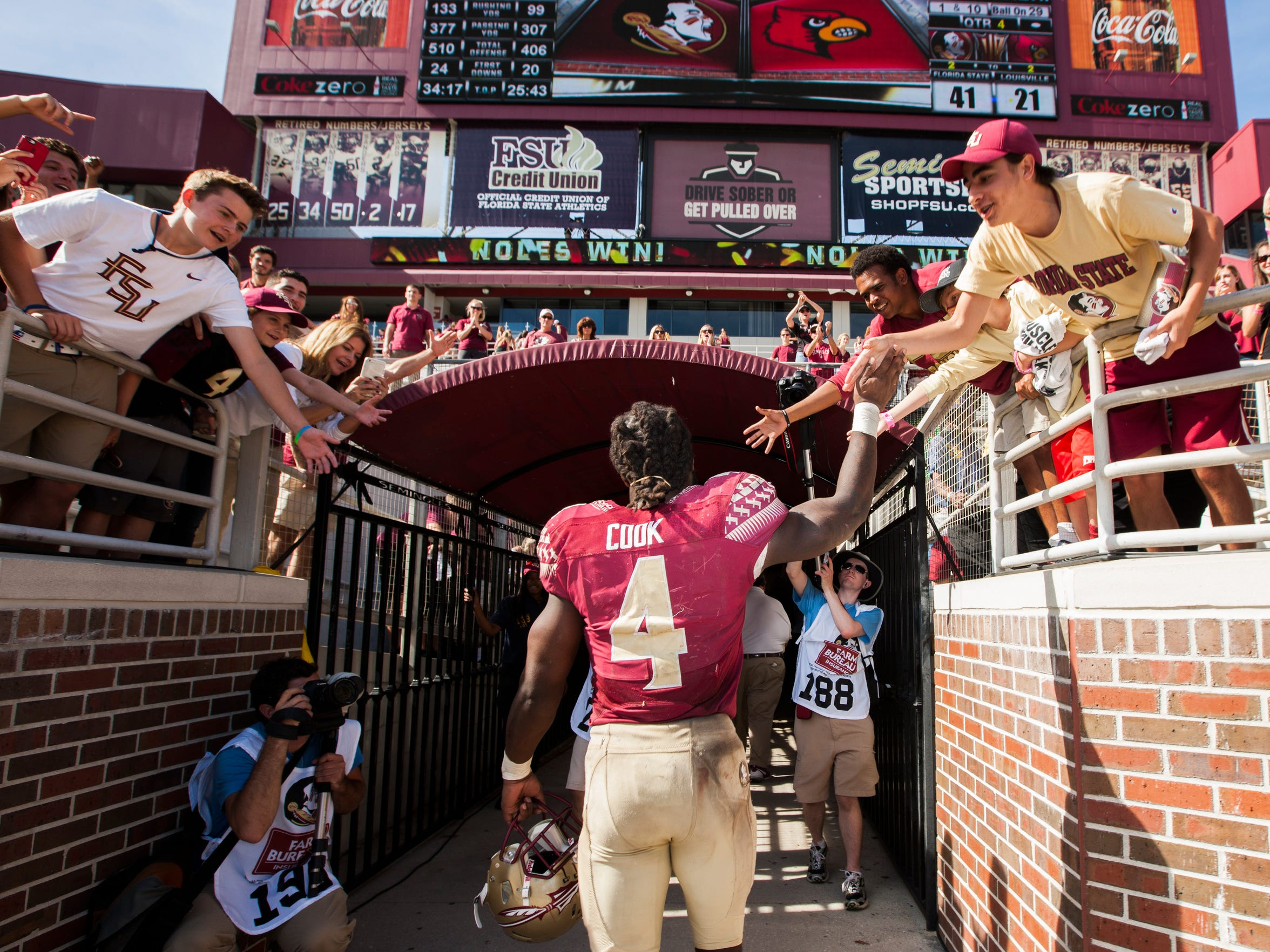 If FSU makes a run to the national title, Cook will be a key ingredient to the team's success.