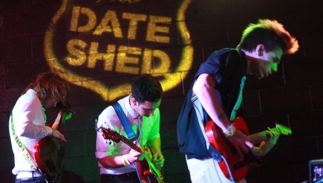 FILE - The BrosQuitos performs on the final set of the 2016 Tachevah band competition sponsored by The Desert sun at the Date Shed in Indio, California on May 18, 2016.