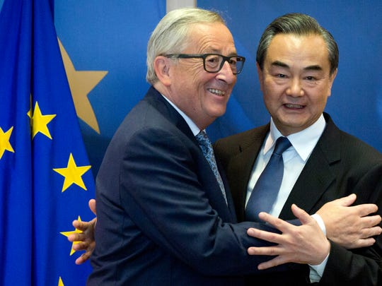 European Commission President Jean-Claude Juncker,