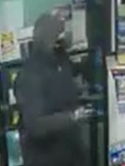 Southern Regional Police say this masked man robbed a convenience store in February.