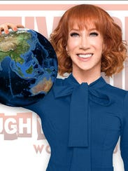 The poster for Kathy Griffin's Laugh Your Head Off