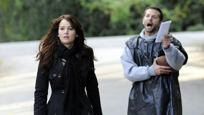 """In """"Silver Linings Playbook,"""" Tiffany (Jennifer Lawrence) is unconventional to say the least but just what Pat (Bradley Cooper) needs in his life."""