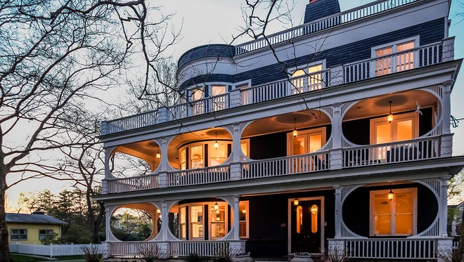 Larchmont home at 7 Prospect Ave. was variously the circa 1893 Belvedere Hotel, the Manor Inn, a year-round country resort, then later, in 1955, converted into a residential home for senior citizens.