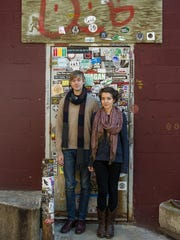 Taylor Smith and Laura Heaberlin of Cricket Blue in  Burlington on Wednesday, March 30, 2016.