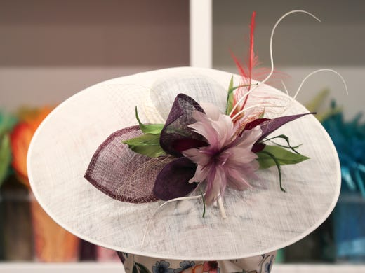 57576e57 Kentucky Derby custom hats give you a one-of-a-kind look