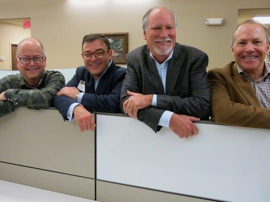 Rand Falbaum, Bumpy Triche, Mitch Brashier, Fred Kent