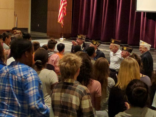 More than 200 eighth-graders took part in the Constitution