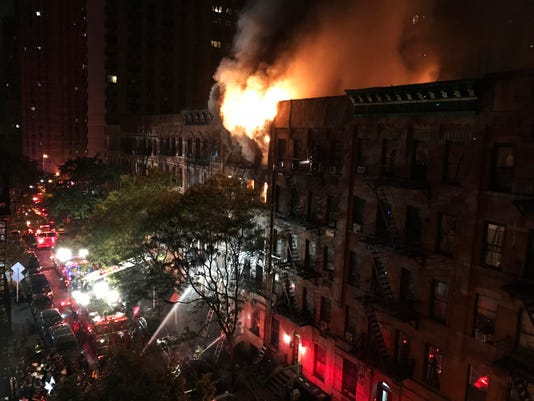 AP NYC APARTMENT BUILDING FATAL FIRE A USA NY