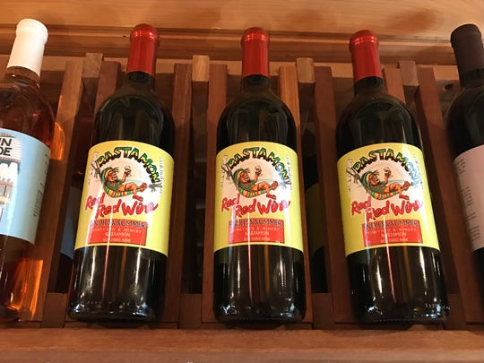 Rastamon Red Red is one of Summer Crush Vineyard and Winery's most popular wines.