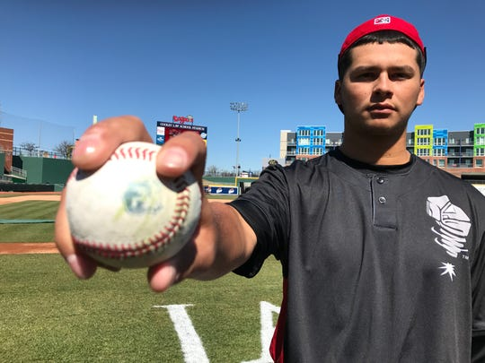 Lansing right-hander Justin Maese opened the season