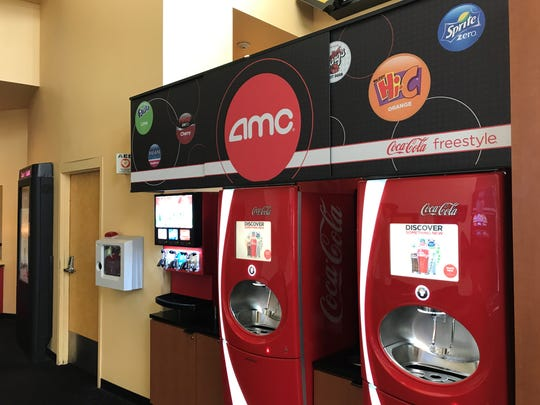 AMC Added Coca Cola Freestyle Machines To Its Newly Aquired